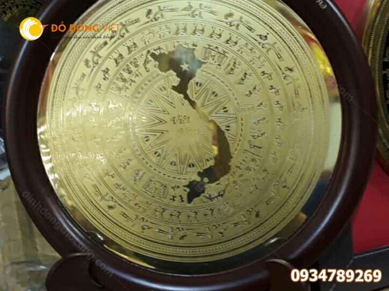 mặt đĩa trống đồng quà tặng