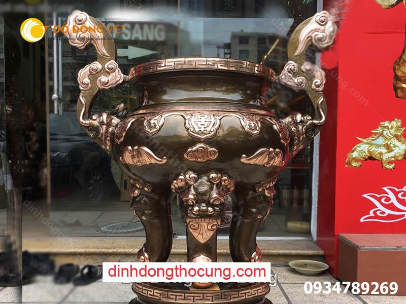Báo giá chi tiết đúc lư hương đồng tại Sài Gòn, TP HCM, Hà Nội