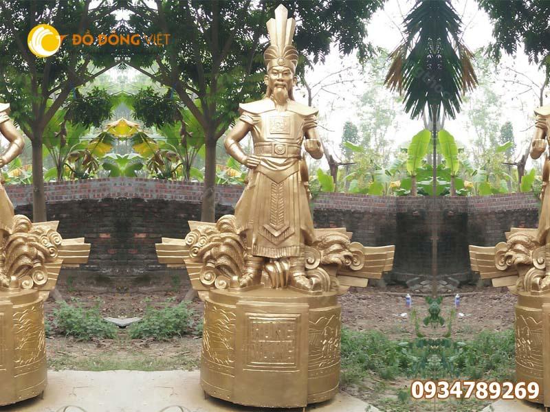 Báo giá đúc tượng Vua Hùng bằng đồng