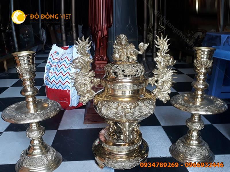 Bộ lư đồng Dapha, đỉnh thờ cúng hãng Đại Phát Dapha giá rẻ tại TP HCM