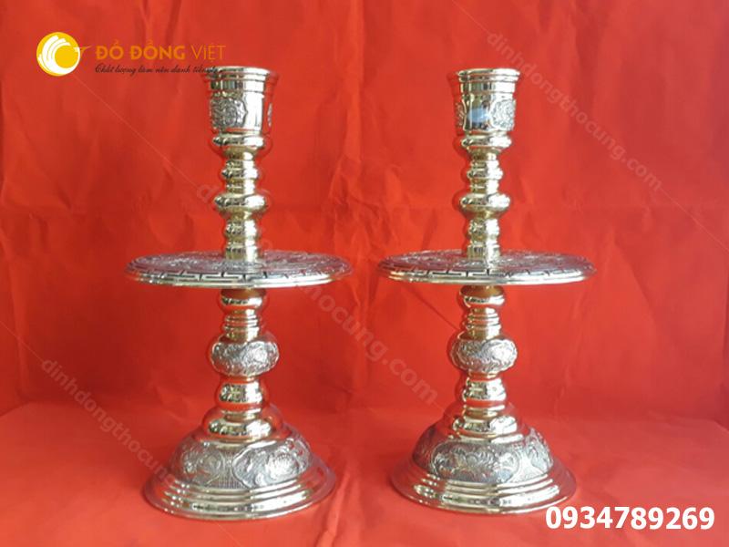 Chân nến ( Chân đèn ) nến thờ cúng, Chân đèn Dapha, Chân đèn Vĩnh Tiến