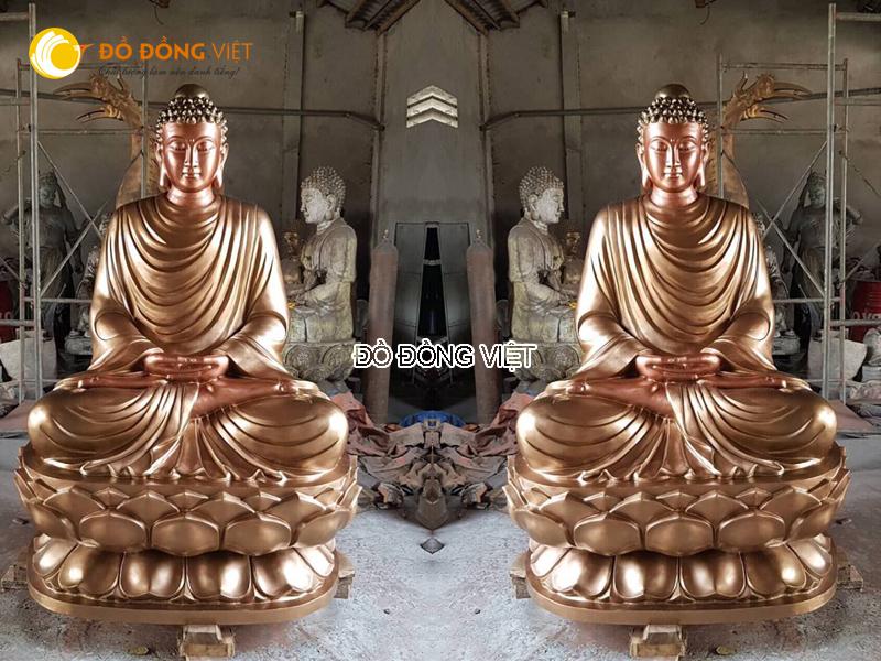 Công ty đúc tượng phật đình chùa, đúc tượng thích ca theo yêu cầu tại TP HCM