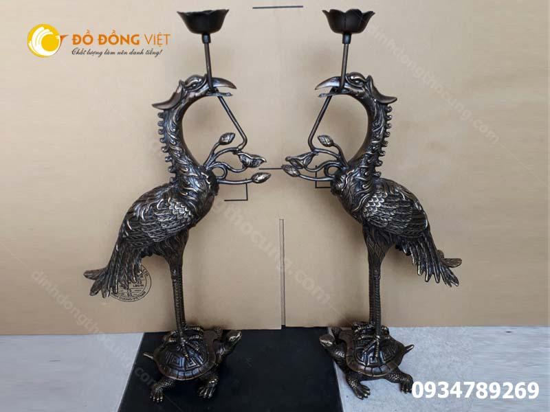 Địa chỉ bán Hạc đồng thờ cúng tại TP Hồ Chí Minh, Hạc thờ Dapha 3D cao cấp giá rẻ