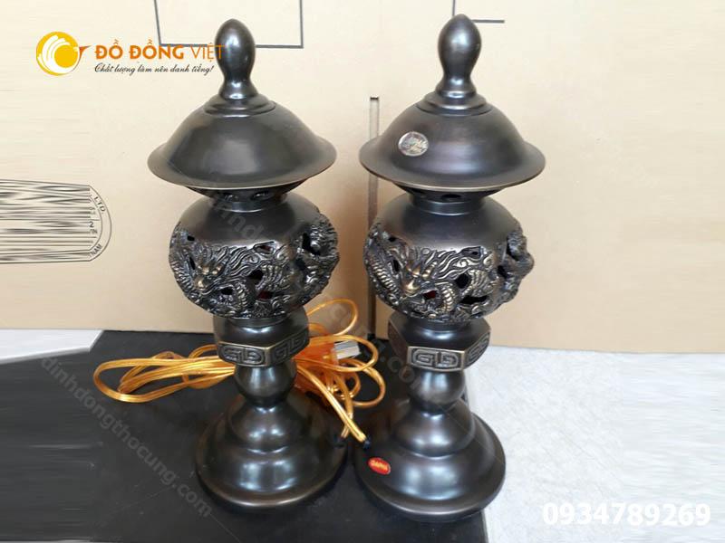 Đôi đèn Dapha cao 50cm