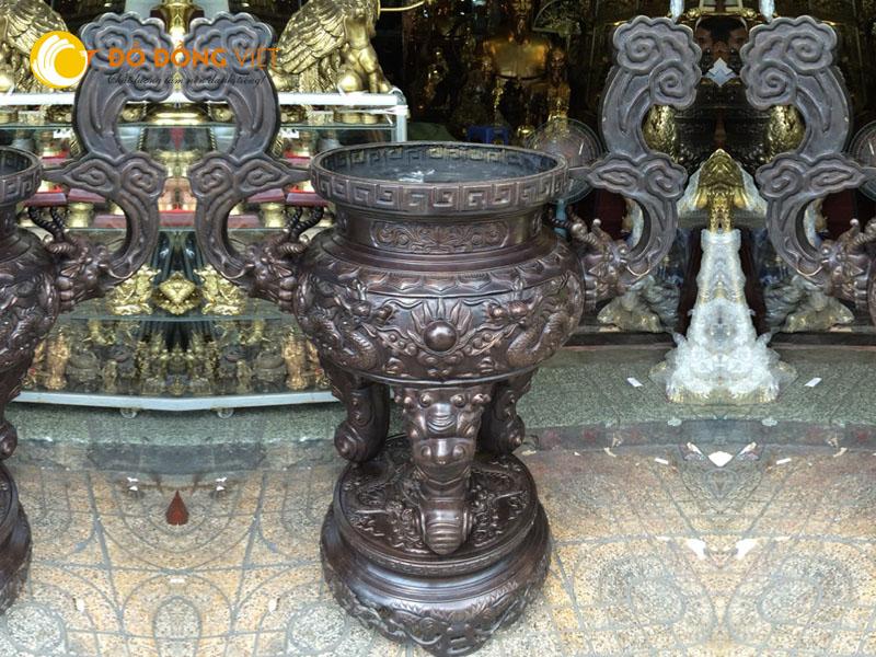 Đúc lư hương đình chùa tại TP HCM, Đơn vị nhận đúc lư hương tại chùa, báo giá đúc lư hương đồng