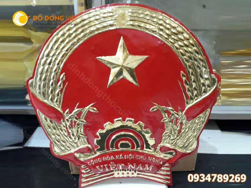 Đúc Quốc Huy bằng đồng tại TP Hồ Chí Minh