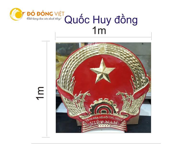 Đúc Quốc Huy logo huy hiệu công an bằng đồng