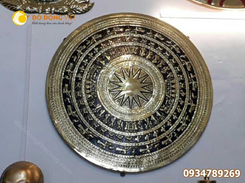 Mặt trống đồng gò đường kính 90 cm