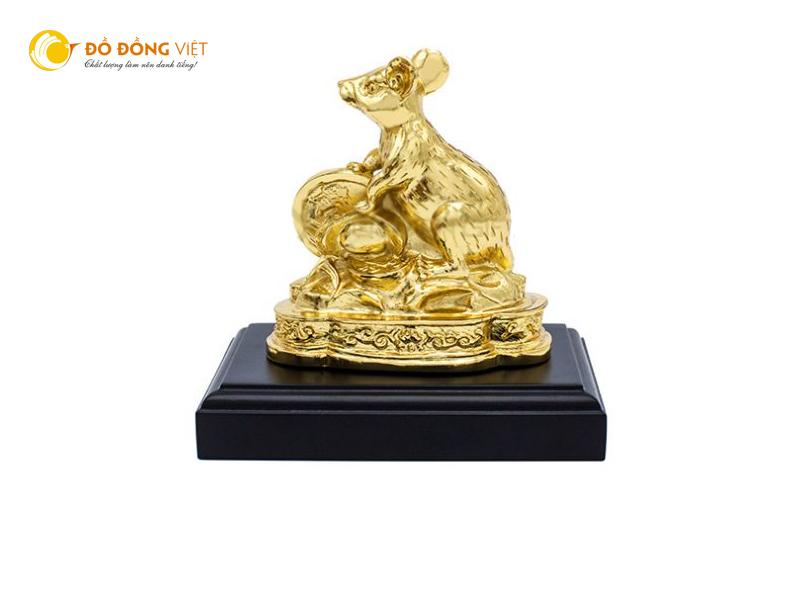Mua chuột phong thủy mạ vàng tại Sài Gòn