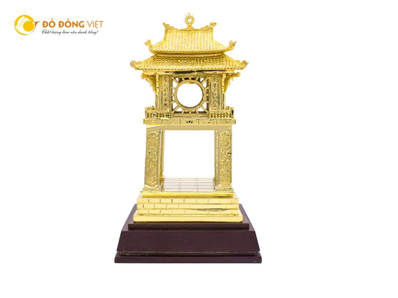 Quà Tặng Khuê Văn Các bằng đồng mạ vàng 24k