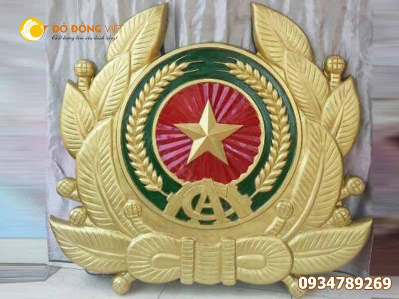 đơn vị đúc huy hiệu công an nhân dân