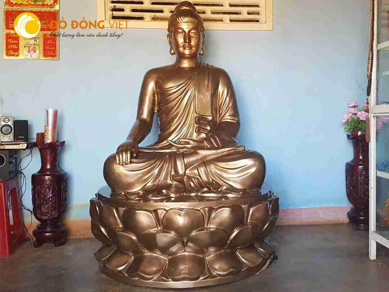Báo giá đúc tượng Phật bằng đồng vàng cao cấp