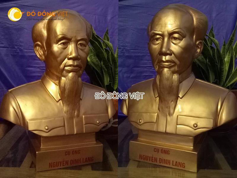 Công ty Đồ đồng Việt chúng tôi nhận đúc tượng đồng bán thân theo yêu cầu