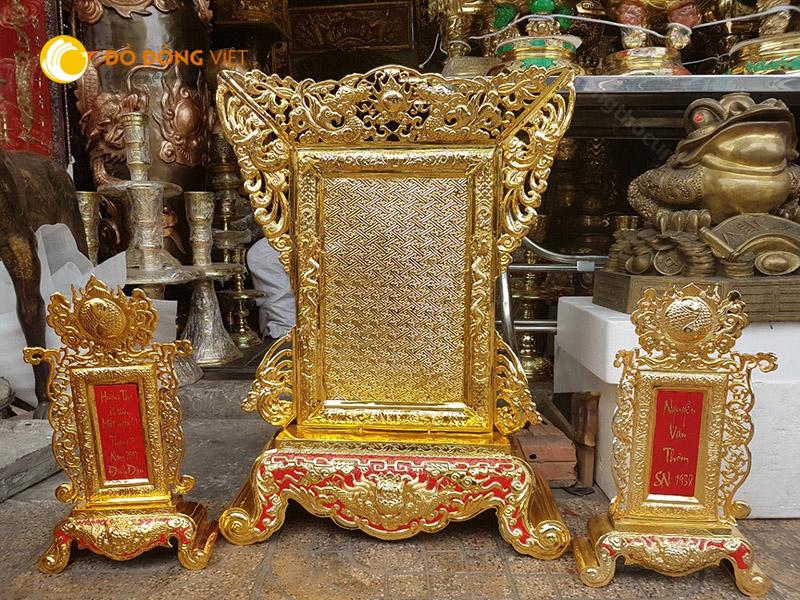 Cửa hàng bán bài vị thờ cúng tại TP HCM, Bài vị thờ cúng bằng đồng chất lượng, Bài vị thờ cúng