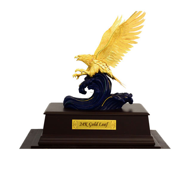 Đại bàng tung cánh dát vàng 24k