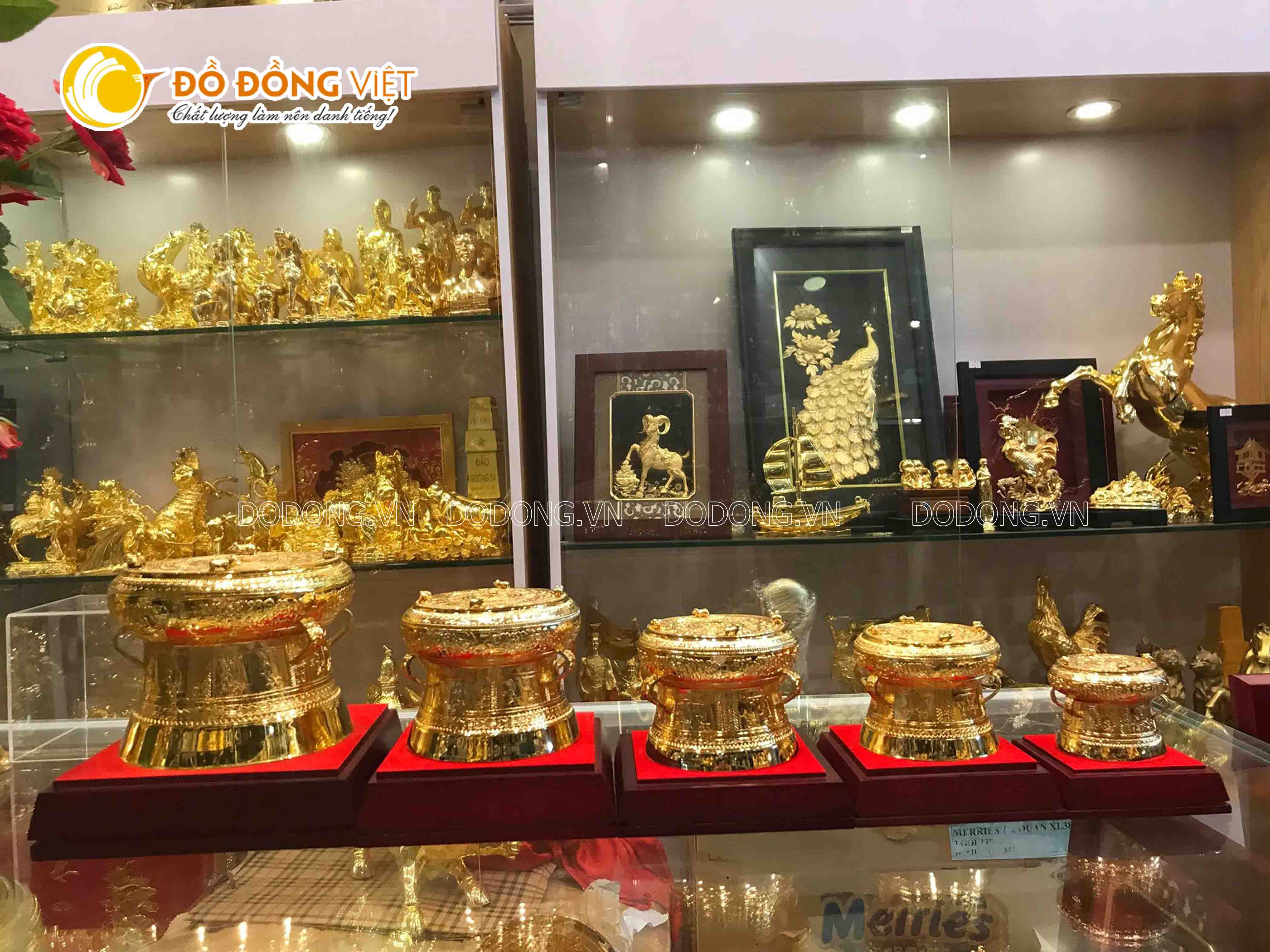 Địa chỉ bán trống đồng quà tặng mạ vàng tại TP Hồ Chí Minh