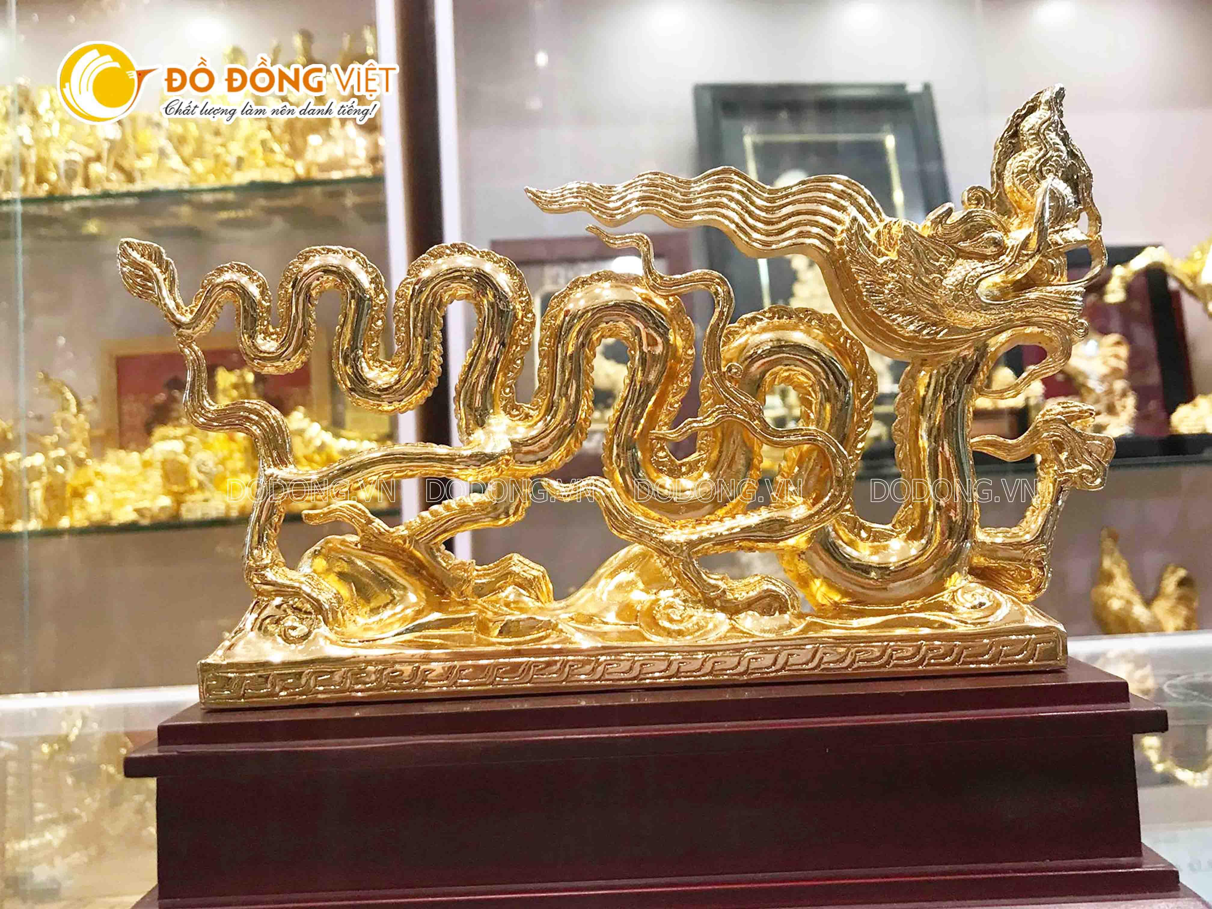Địa chỉ bán tượng rồng mạ vàng đẹp tinh xảo tại TP Hồ Chí Minh