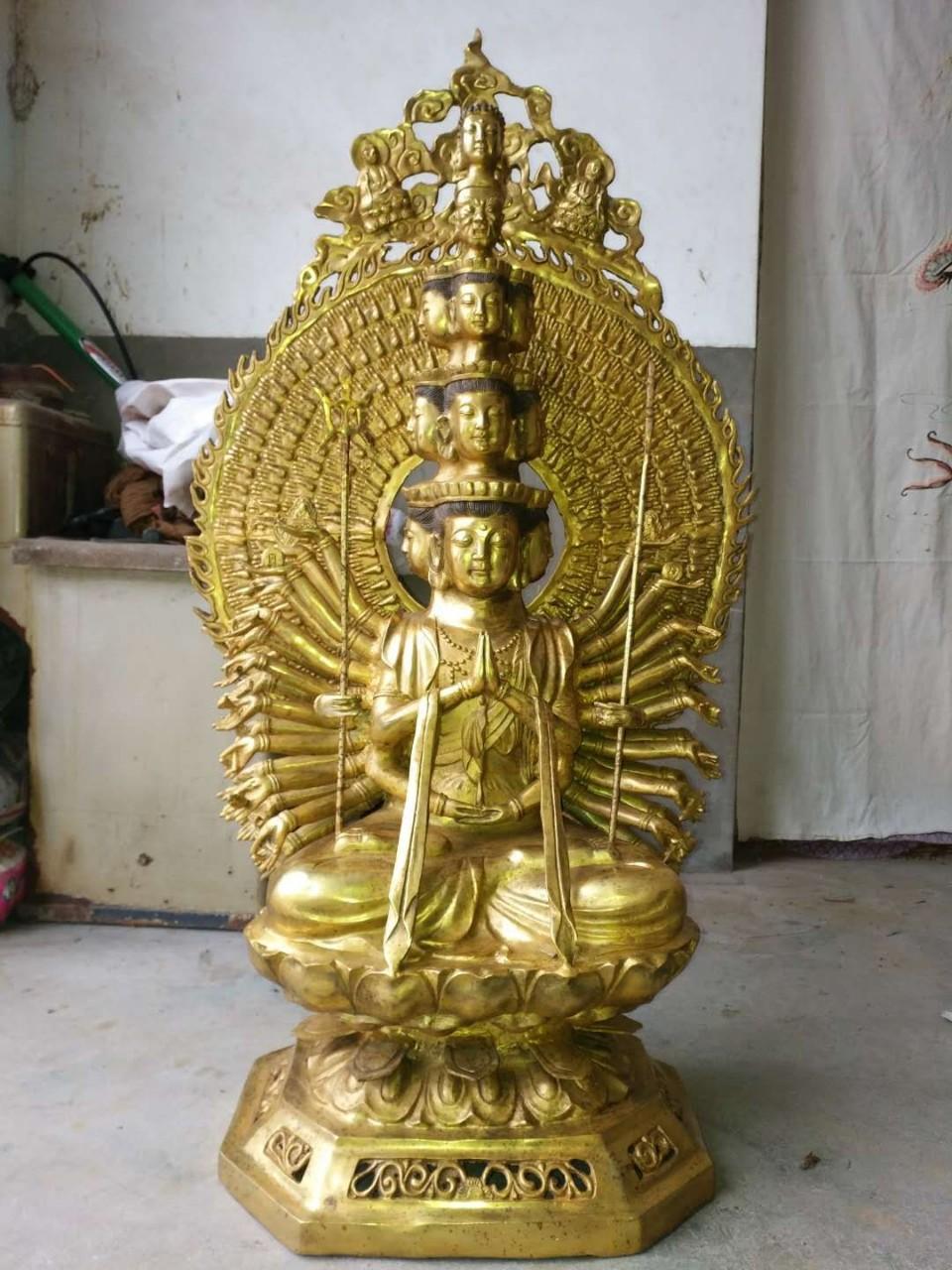 Địa chỉ đúc tượng Phật thiên thủ thiên nhãn bằng đồng