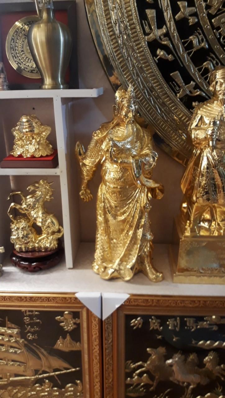 Địa chỉ đúc tượng Quan Công mạ vàng theo yêu cầu