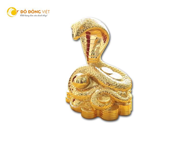 Địa chỉ mua rắn phong thủy mạ vàng uy tín chất lượng
