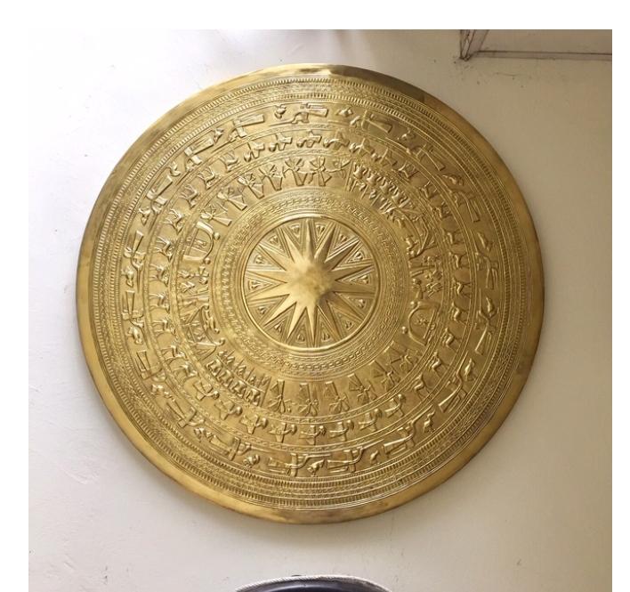 Đồ đồng Việt chế tác mặt trống đồng gò đường kính các loại