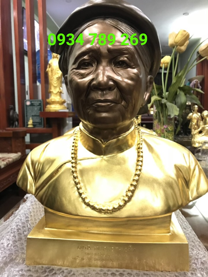 Đồ đồng Việt chuyên đúc tượng chân dung uy tín chất lượng