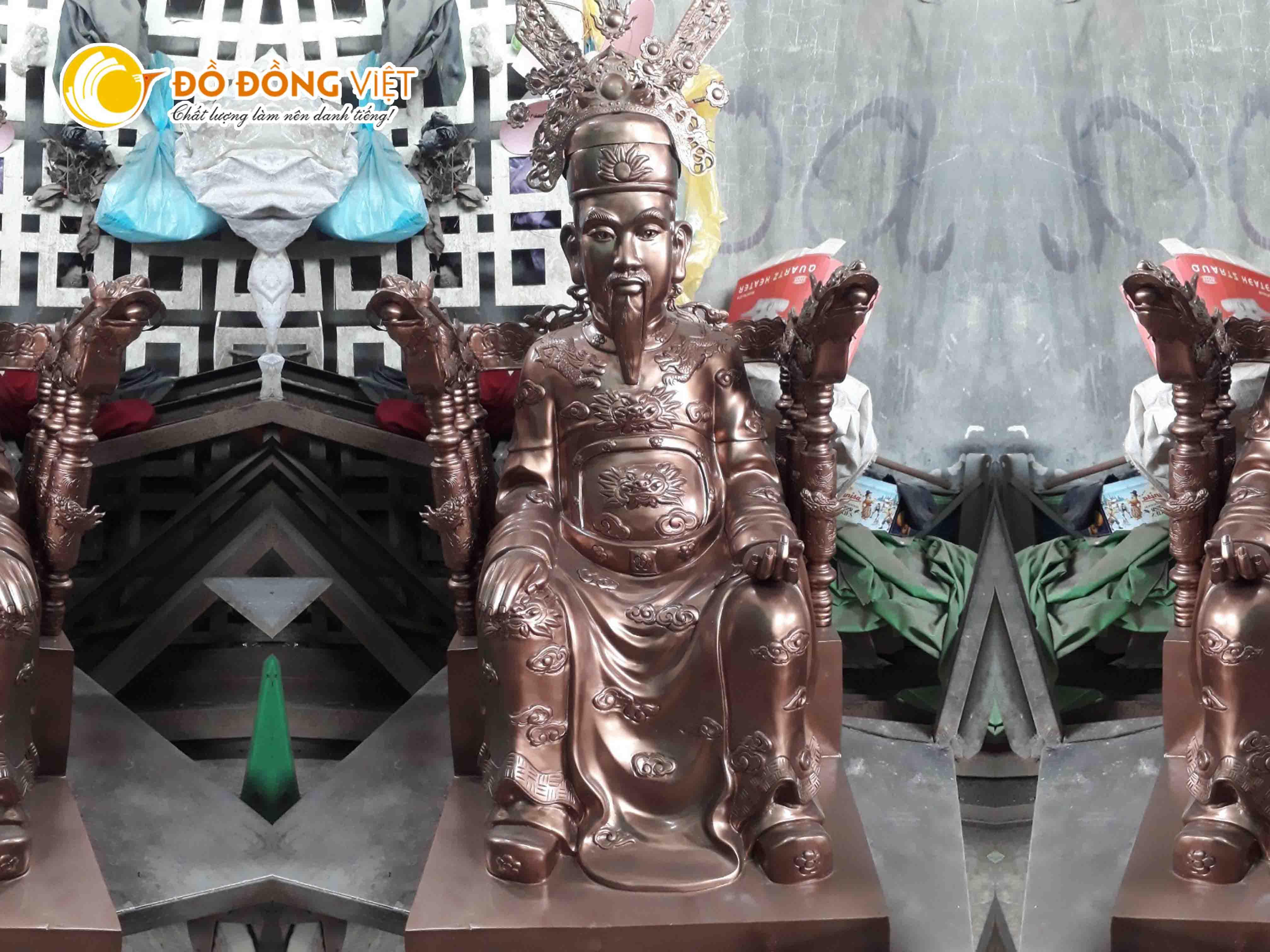 Đồ đồng Việt chuyên đúc tượng danh nhân theo yêu cầu