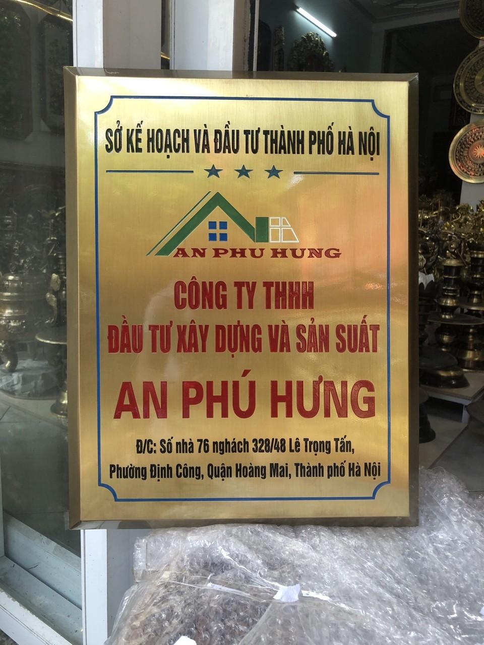 Đồ đồng Việt nhận chế tác bảng biển, biển tên theo yêu cầu