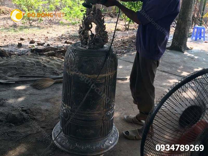 Đơn vị đúc chuông đồng đình chùa uy tín tại Sài Gòn Hà Nội