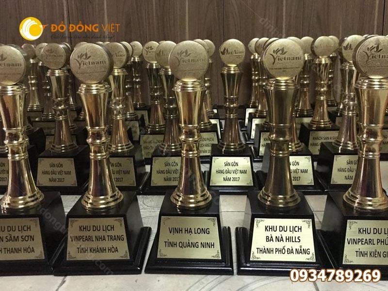 Đơn vị sản xuất cúp vinh danh trao giải