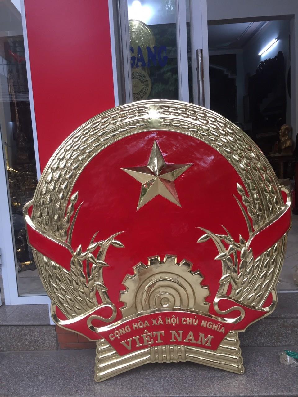 Đúc quốc huy, huy hiệu, logo bằng đồng theo yêu cầu