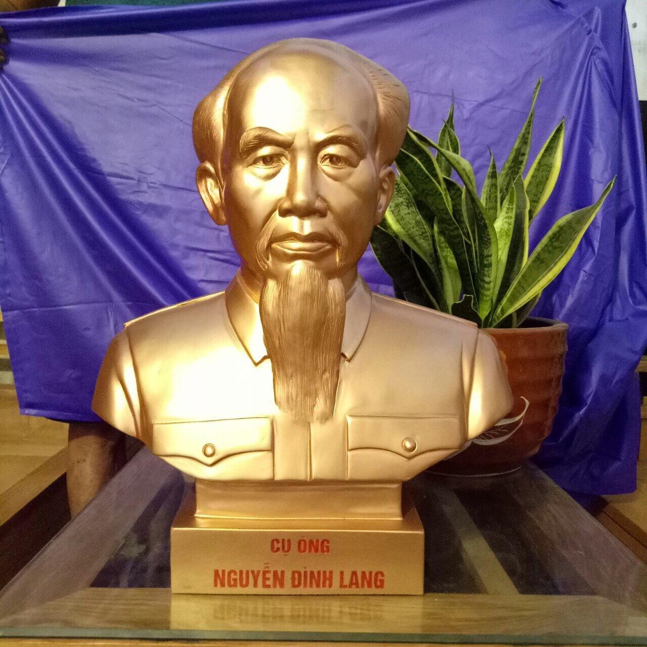Đúc tượng chân dung theo yêu cầu tại Đồ đồng Việt