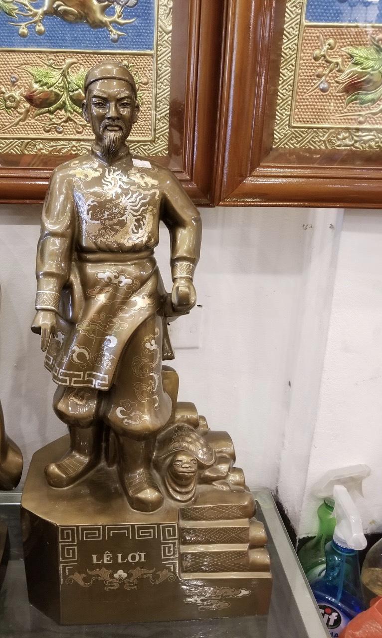 Đúc tượng đồng Lê Lợi, đúc tượng đồng danh nhân Việt Nam