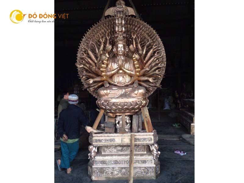 Đơn vị đúc tượng Phật theo yêu cầu
