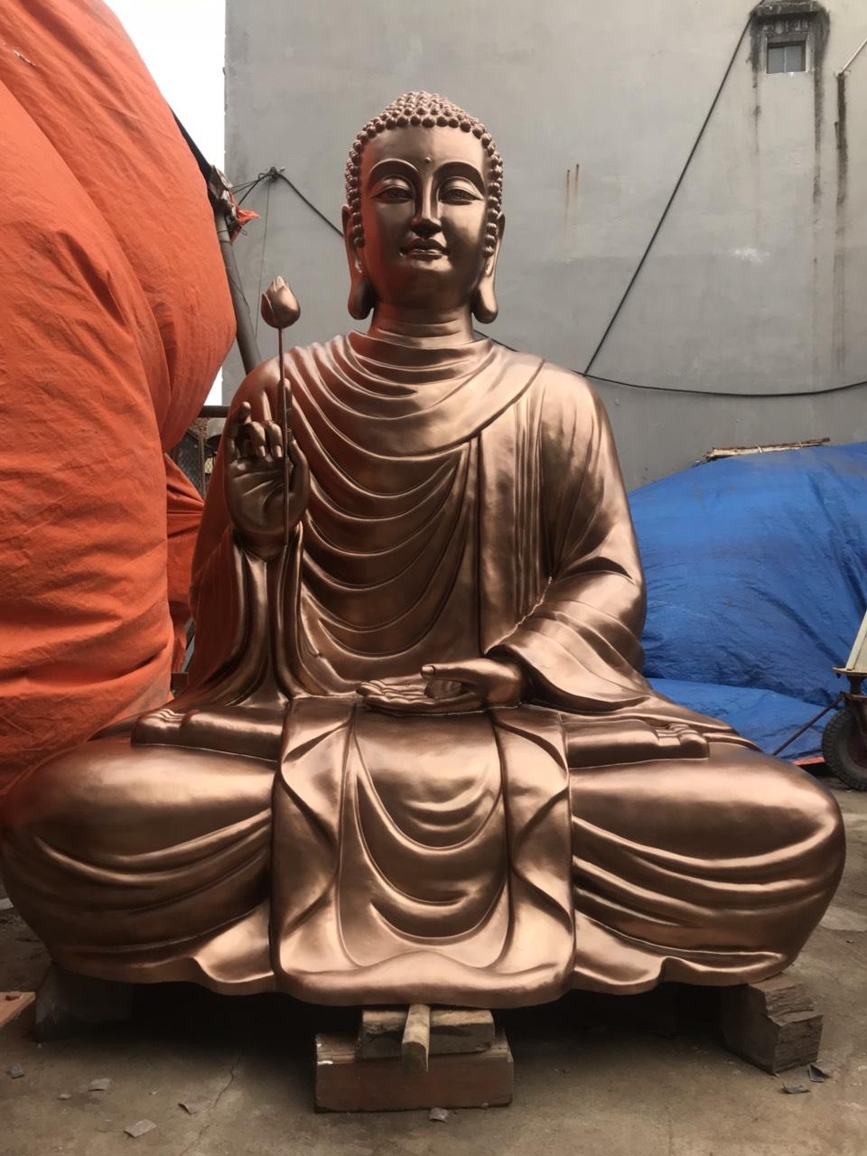 Đúc tượng Phật thích ca mâu ni bằng đồng uy tín chất lượng tại Đồ đồng Việt