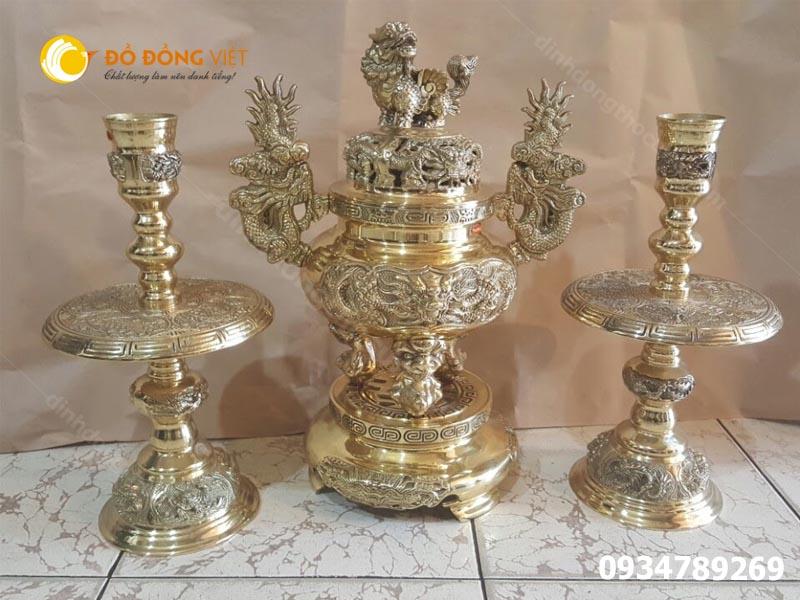 Lu dong Dapha, Đỉnh đồng Đại Phát. Đỉnh lư Dapha thờ cúng chất lượng