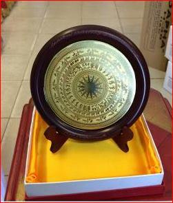 Mặt trống đồng đúc làm quà tặng dk 15cm