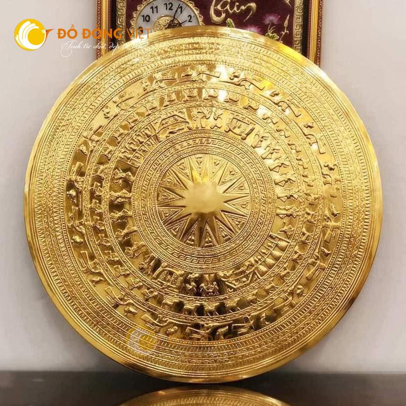 Mặt trống đồng mạ vàng, Quà tặng trống đồng Đông Sơn trang trí