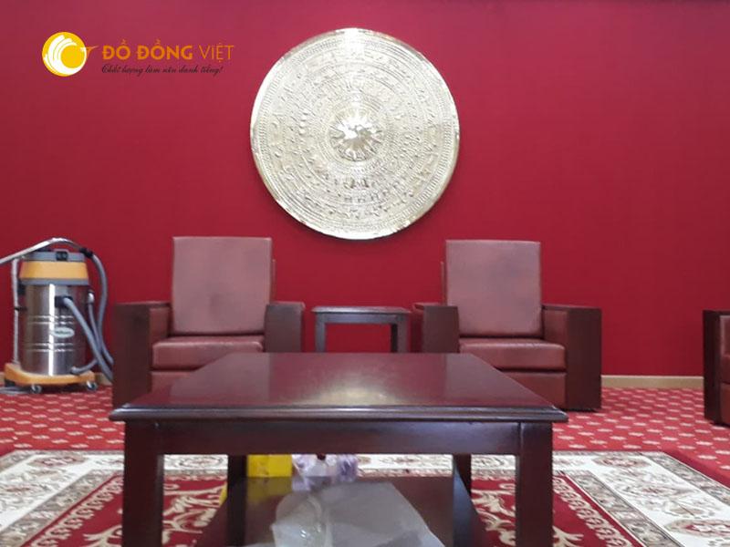 Mặt trống đồng trang trí nội thất DK 90cm
