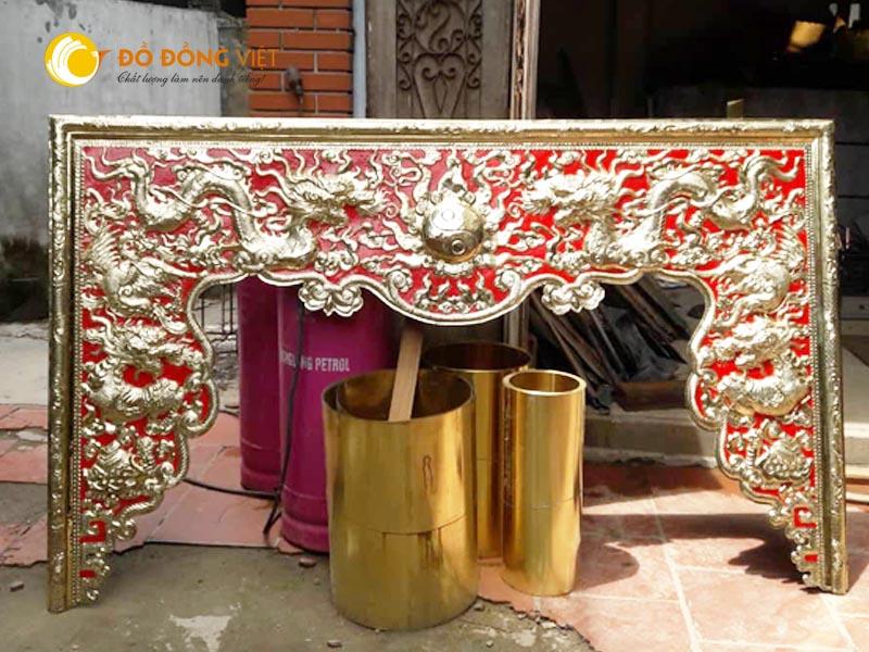 Mẫu cửa võng đẹp nhất cho đình chùa, nhà thờ họ