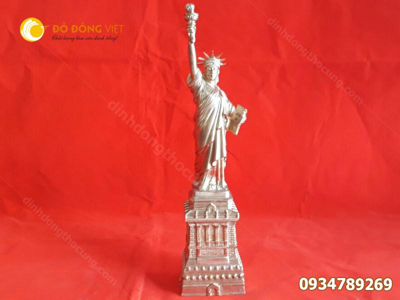 Nơi bán tượng nữ thần tự do  đồng cỡ nhỏ cao 30cm