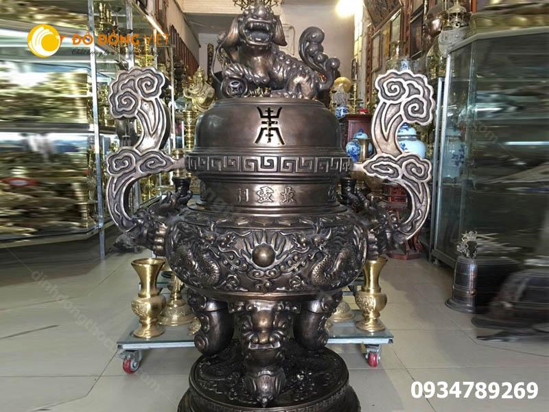 Nơi đúc lư hương đình chùa UY TÍN nhất Sài Gòn, Hà Nội