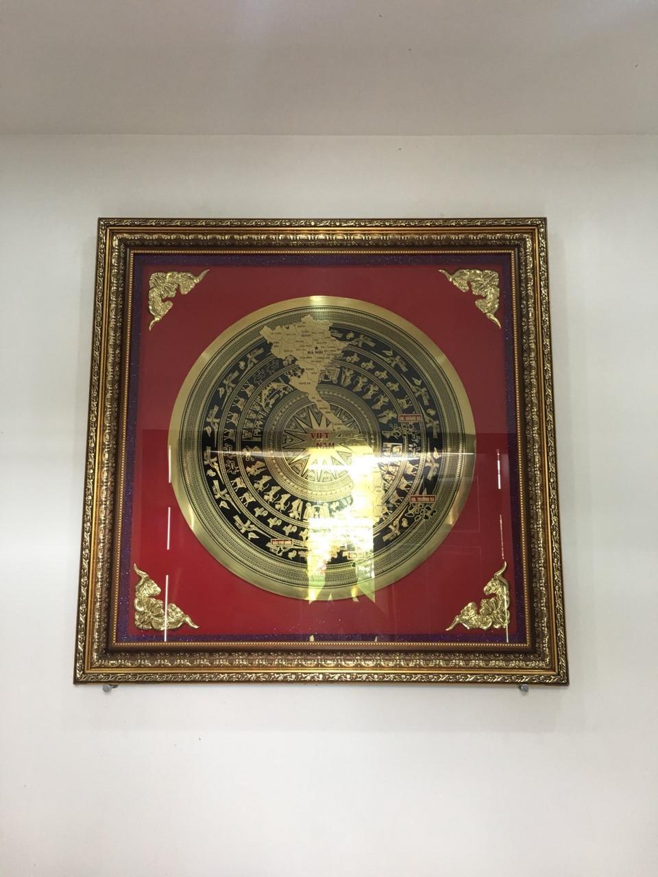 Tranh mặt trống đồng- quà tặng giá trị và ý nghĩa về văn hóa Việt Nam