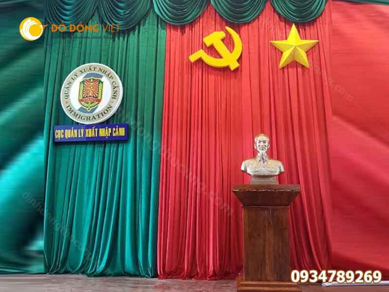 Tượng đồng chân dung Bác Hồ tại Đồ đồng Việt