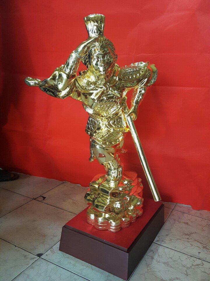 Tượng khỉ đồng mạ vàng, tượng đại thánh Tôn Ngộ Không bằng đồng đẹp tinh xảo