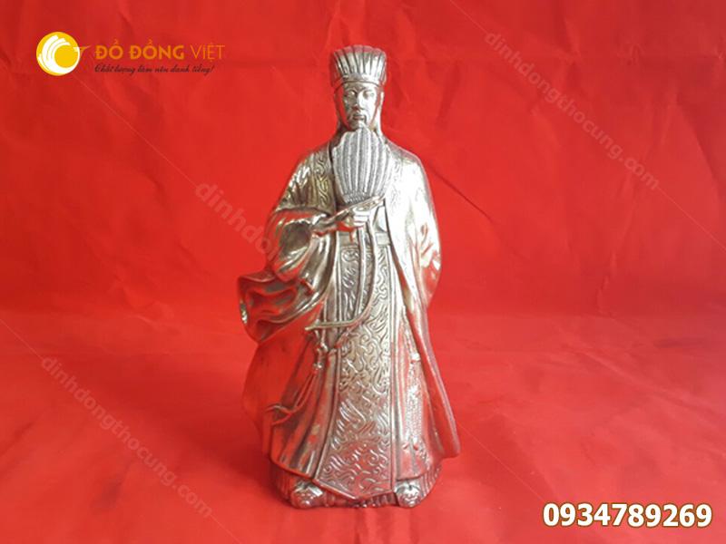 Tượng Khổng Minh tượng gia cát lượng bằng đồng