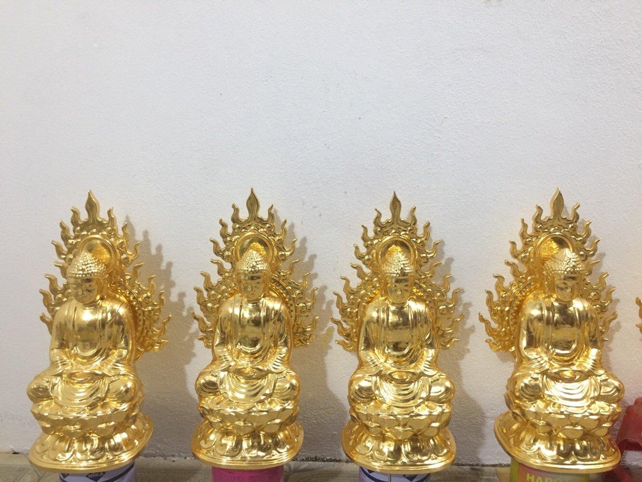 Tượng Phật dát vàng HCM 9999