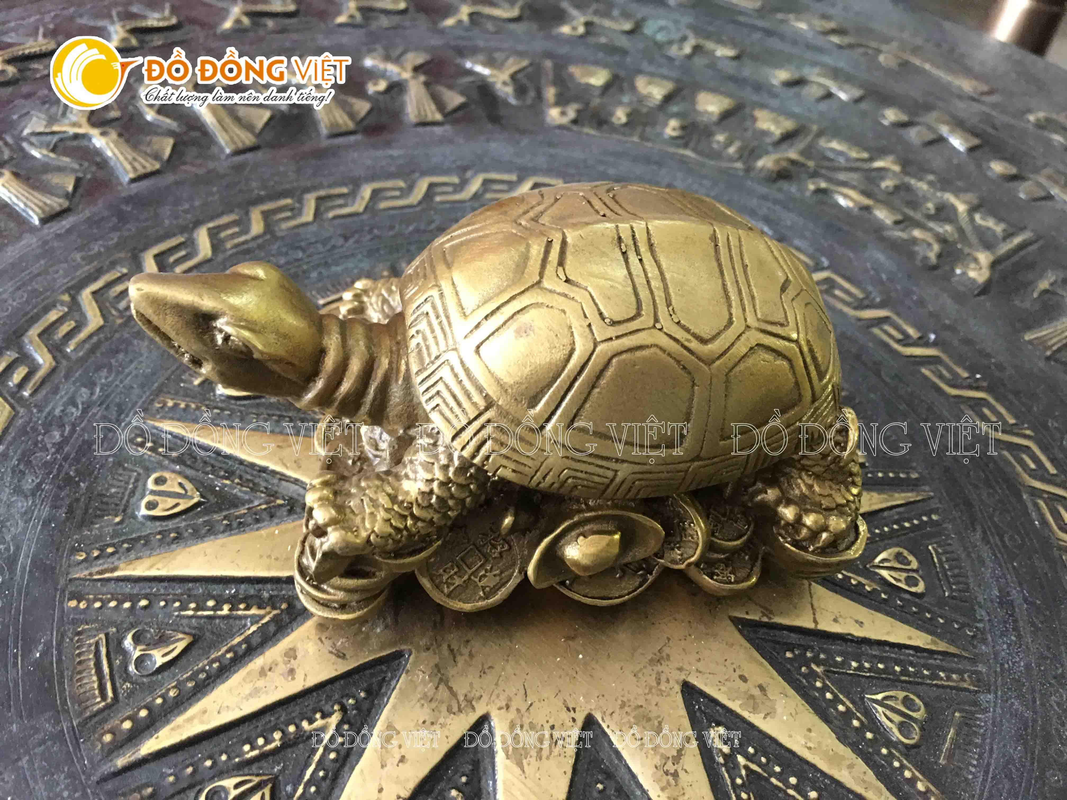 Tượng rùa bằng đồng, tượng linh vật phong thủy